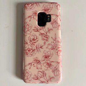 🔮VELVET CAVIAR nude roses galaxy s9 phone case
